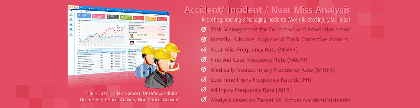 Accident/ Incident / Near Miss Analysis Management
