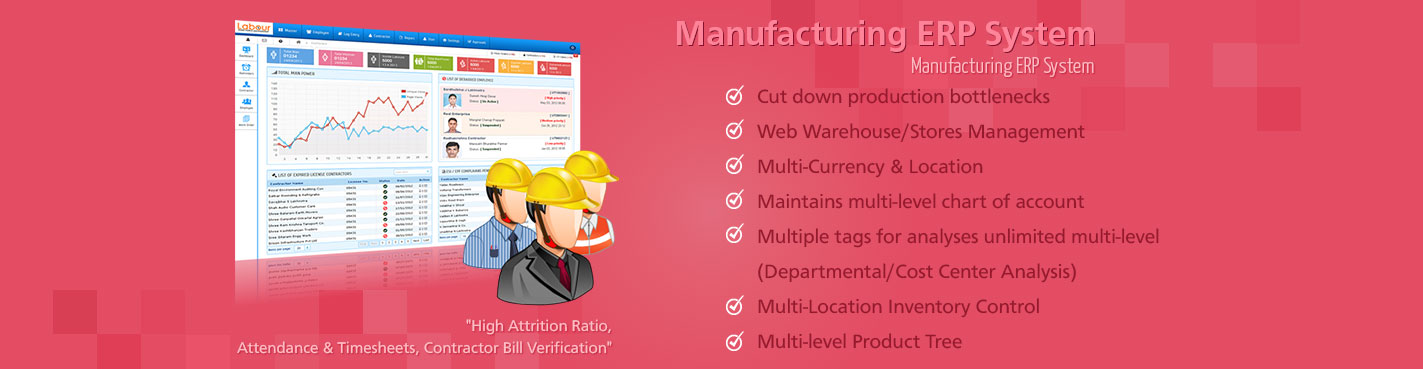 Manufacturing ERP System