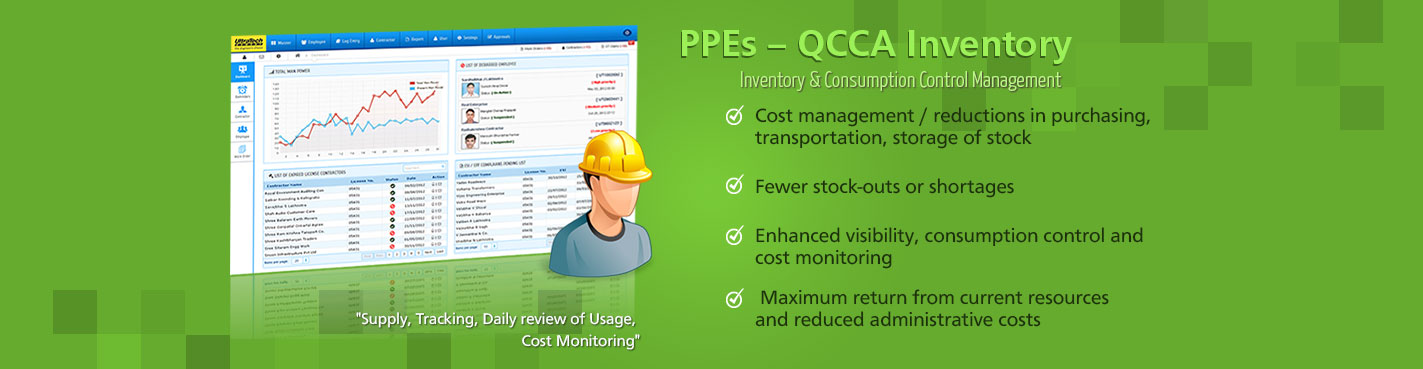 PPEs – QCCA Inventory